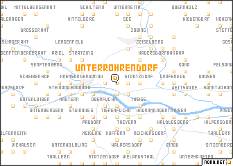 map of Unterrohrendorf