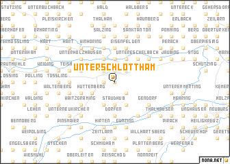 map of Unterschlottham