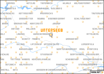 map of Unterseeb