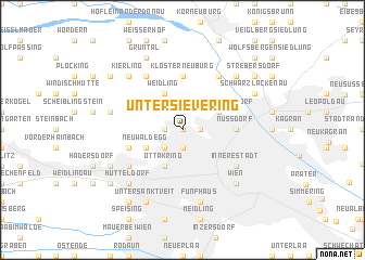 map of Untersievering