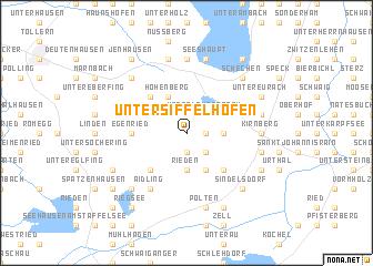 map of Untersiffelhofen