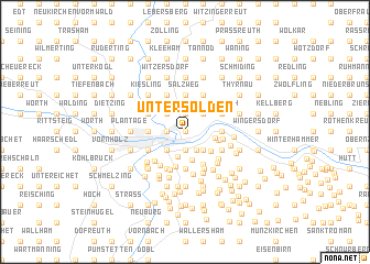 map of Untersölden