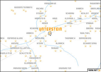 map of Unterstein