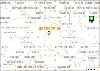 map of Unterteipl