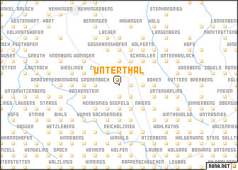 map of Unterthal