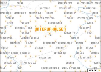 map of Unterufhausen