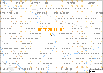 map of Unterwilling