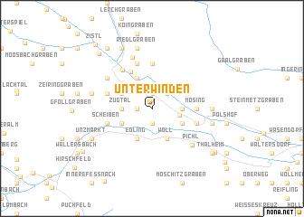 map of Unterwinden