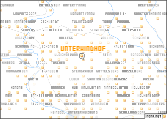 map of Unterwindhof