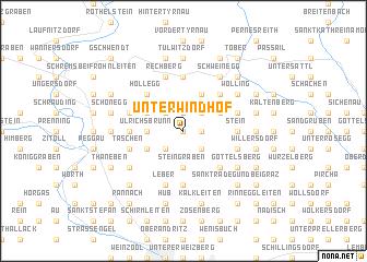 map of Unterwindhof