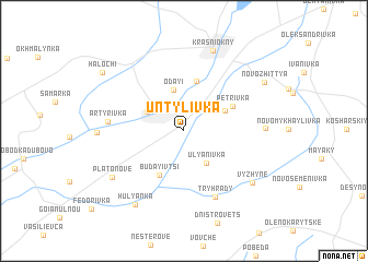 map of Untylivka