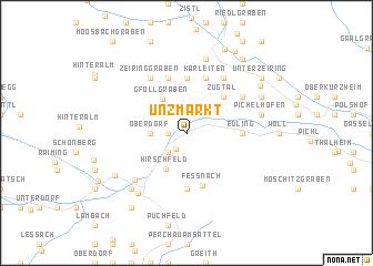 map of Unzmarkt