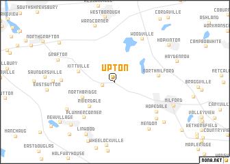 map of Upton