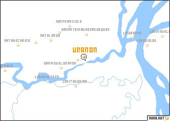 map of Urañon