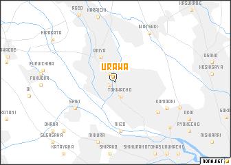 Urawa Japan map  nonanet