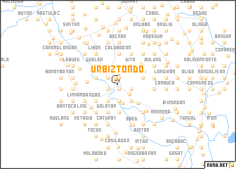 map of Urbiztondo