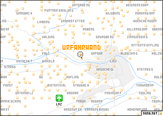 map of Urfahrwänd