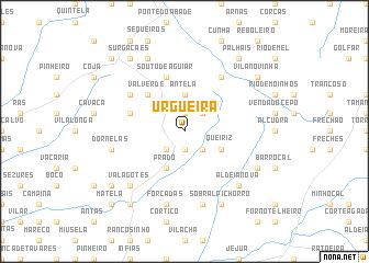 map of Urgueira