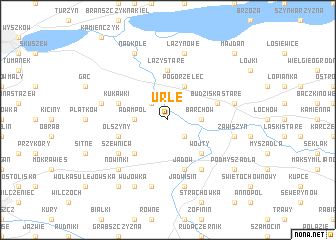 map of Urle