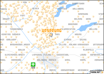 map of Ursprung