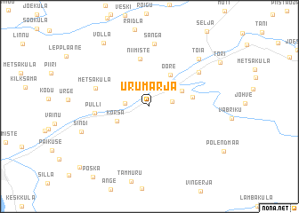 map of Urumarja