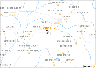 Urumita Colombia Map Nona Net
