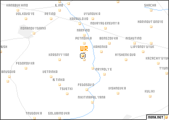 map of Ur