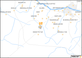 map of Ūr