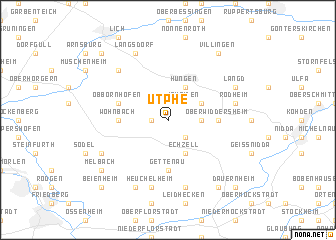 map of Utphe