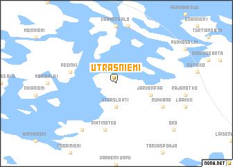 Utrasniemi Finland map nonanet