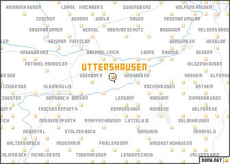 map of Uttershausen