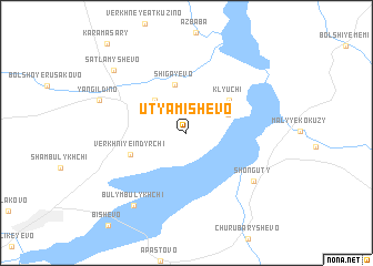 map of Utyamishevo