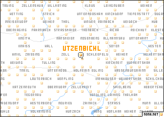 map of Utzenbichl