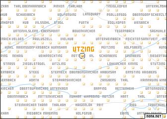 map of Utzing