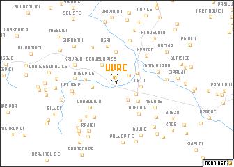 map of Uvac