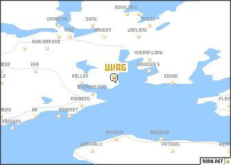 map of Uvåg