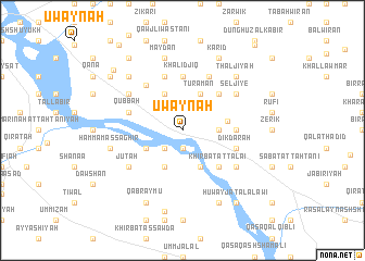 map of 'Uwaynah