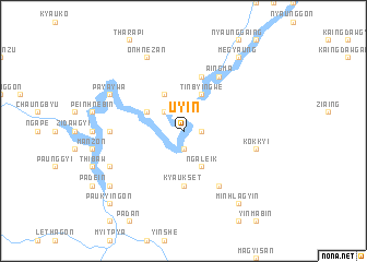 map of Uyin