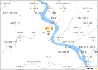 map of Uyin