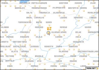 map of Uz