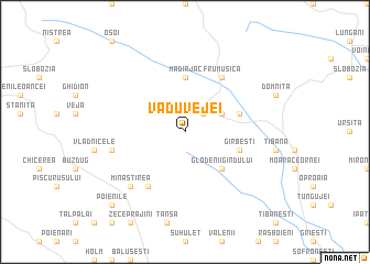map of Vadu Vejei