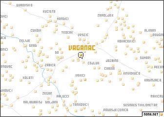 map of Vaganac