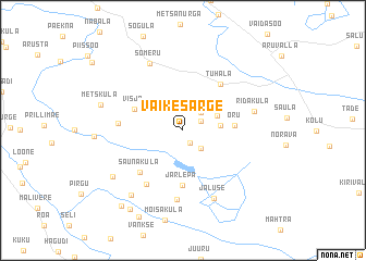 map of Väike-Särge