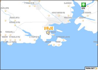 map of Våje
