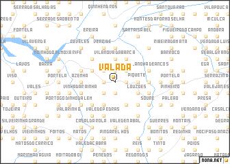 map of Valada