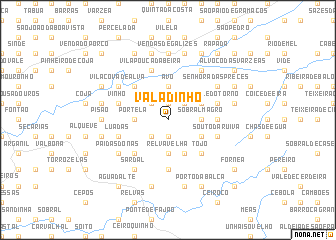 map of Valadinho