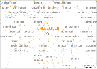 map of Valdecilla