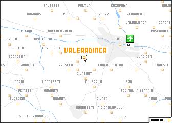 map of Valea Adîncă