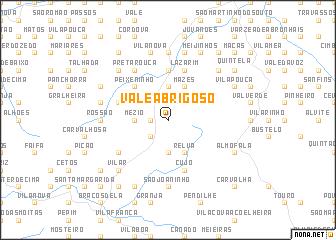 map of Vale Abrigoso