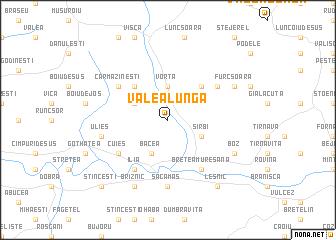 map of Valea Lungă